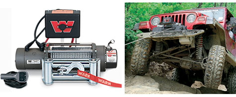 TMax Wireless 9000lb Winch