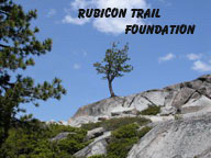 Learn about the non-profit Rubicon Trail Foundation
